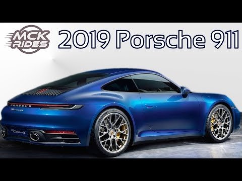 2019 Porsche 911 Carrera 992 Introduction Changes and Speccing!
