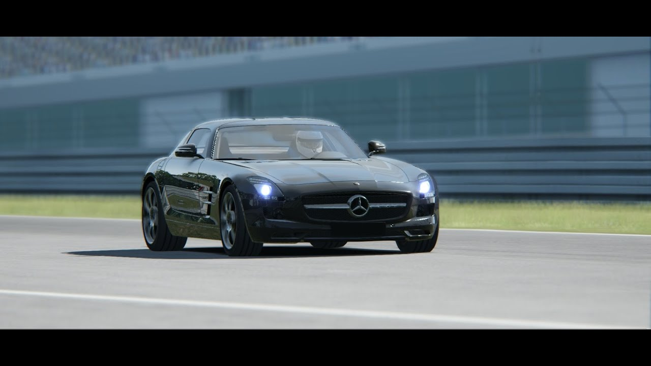Assetto Corsa Drift Assetto Corsa Drift Mercedes Sls Youtube