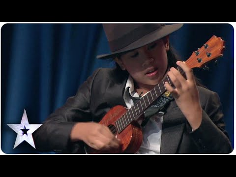 12-Year-Old Sydney Uke's Impeccable Ukulele Skills | Asia's Got Talent Episode 5