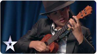 12-year-old Sydney Uke wows judges with ukulele | Asia's Got Talent Episode 5