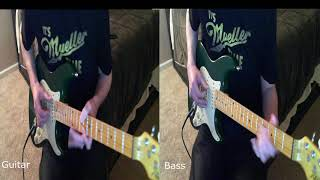 Unknown Mortal Orchestra - Little Blu House (Guitar and Bass Cover)