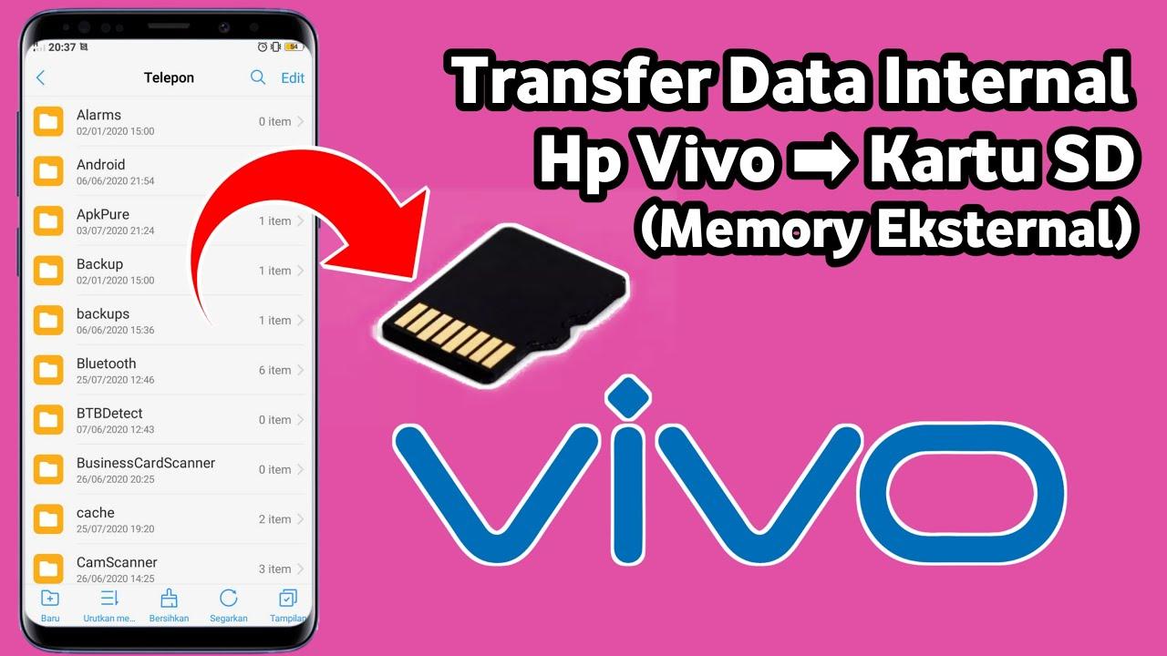 Cara Memindahkan Data Internal Hp Vivo Ke Sd Card Memori Eksternal Youtube