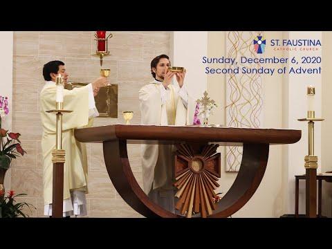 St. Faustina Catholic Church - Sunday, December 6, 2020 - 9am Mass
