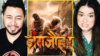 JUNGJAUHAR | जंगजौहर | Mrinal K | Chinmay M | Digpal L | Marathi Teaser Reaction!