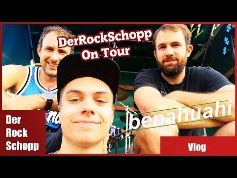 Irgendwo Im NIRGENDWO | Konzert Vlog Mit Benahuahi | DerRockSchopp On Tour