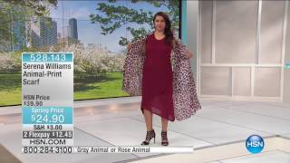 HSN | SERENA WILLIAMS Signature Statement Fashions 04.20.2017 - 04 AM