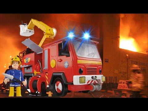 🚒🔥 Fireman Sam Full Episodes 2017 - Best Fire Stations !