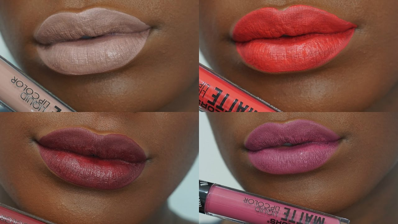 La Girl Line Art Matte Eyeliner Review : La colors black lipstick review the art of beauty