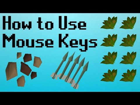 [OSRS] How To Set Up Mouse Keys In OSRS And Where To Use Them