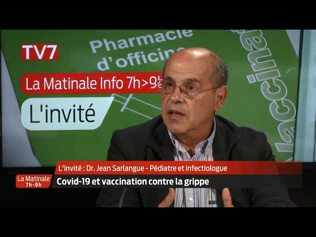 La Matinale | L'invité | Dr Jean Sarlangue, pédiatre et infectiologue au CHU de Bordeaux