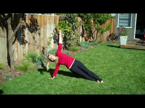9. Side Plank Twists