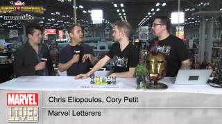 Chris Eliopoulos and Cory Petit Talk the Comic Business on Marvel LIVE! at NYCC 2014