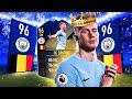 THE KING OF THE MIDFIELD IN FIFA 18 TOTY KDB IN PACK PLAYER REVIEW FUT mp3
