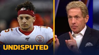 Mahomes' could have made double under the franchise tag, talks Rodgers — Skip | NFL | UNDISPUTED