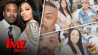 Ray J's Babyshower Stirred Up Some Family Drama | TMZ TV
