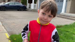 Paw Patrol Marshall Fire Truck Ride On Toy Pretend Play to the Rescue!