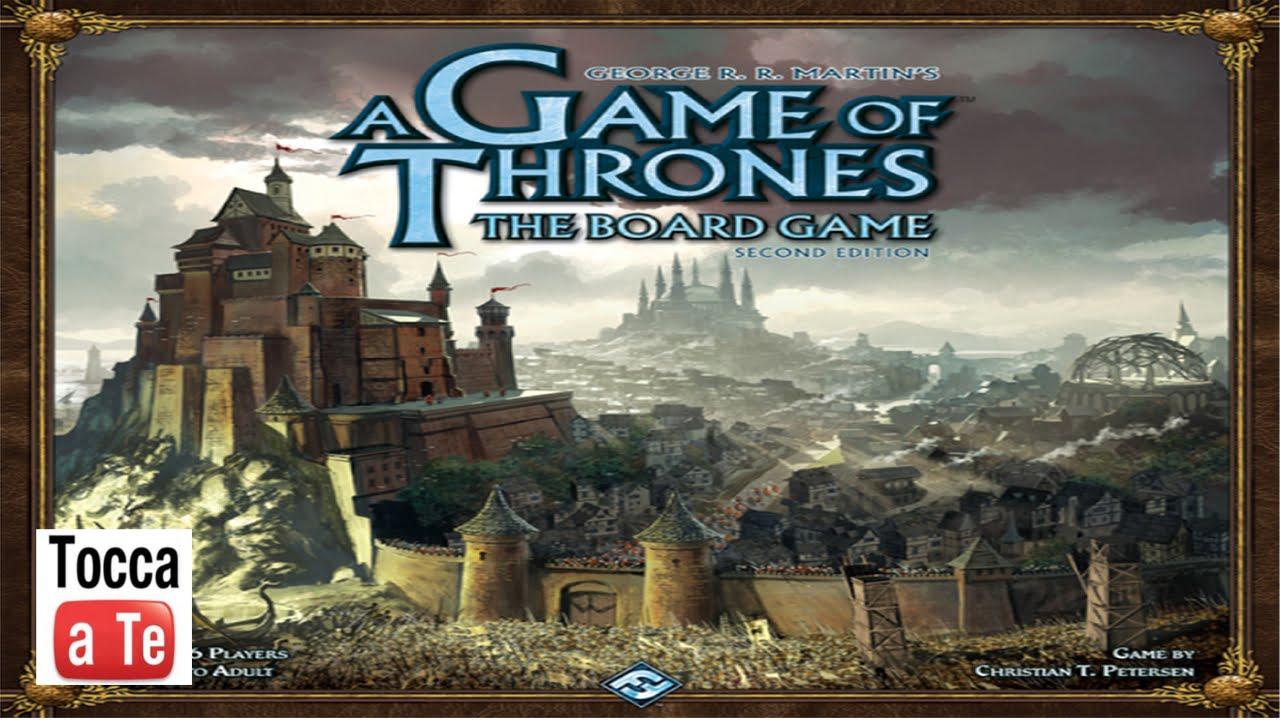 Tocca a te 019 il trono di spade youtube for Il trono di spade gioco da tavolo