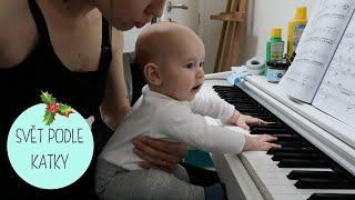 VLOGMAS Den 6.   Filip hraje na klavír