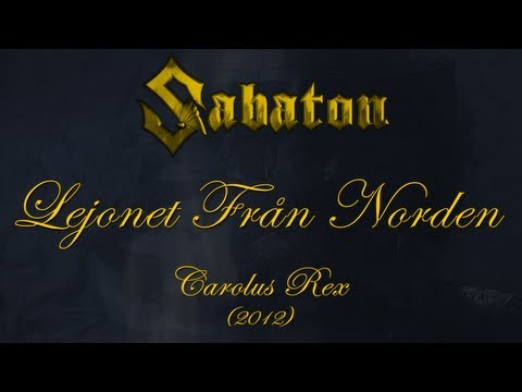 Sabaton - Lejonet Från Norden (Lyrics Svenska & English)