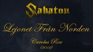 Repeat youtube video Sabaton - Lejonet Från Norden (Lyrics Svenska & English)