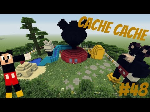 CACHE CACHE MINECRAFT | ÉPISODE 48 | MICKEY MOUSE (Ps4)