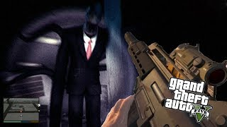 The Most TERRIFYING Moments in GTA 5! (Slenderman, Pennywise, Kraken and MORE)