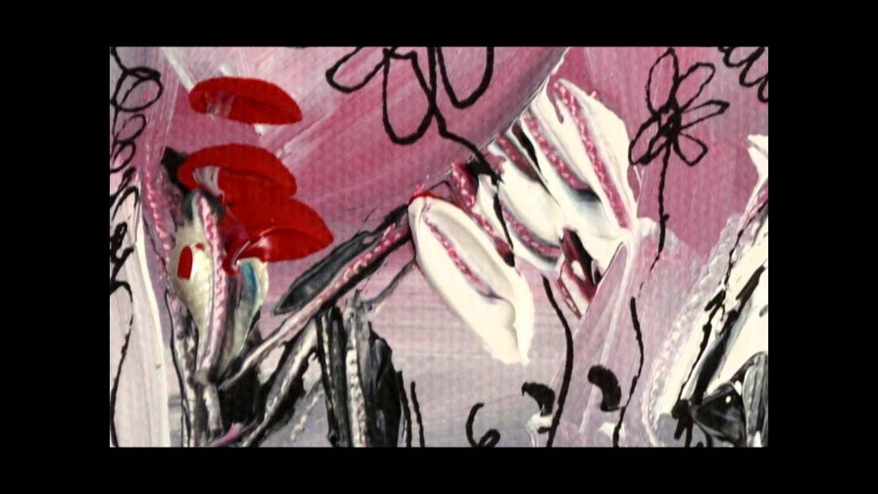 Tableau gris rouge abstrait peintre contemporain ame for Tableau contemporain