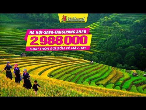 Tour Hà Nội-Sapa-Fansipan-Ô Quy Hồ-Cát Cát 3n2đ trọn gói gồm vé máy bay 3tr988 giảm còn 2tr988