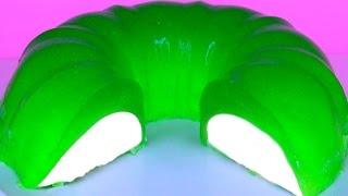 Gelatina Flotatina Wrapped Gelatin Easy! Jello Cake