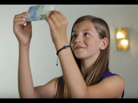 Filmukas vaikams apie eurų banknotus ir monetas – žaisk žaidimą Euro Run!
