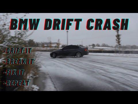 BMW E90 DRIFT CRASH FULL EDIT *POV*