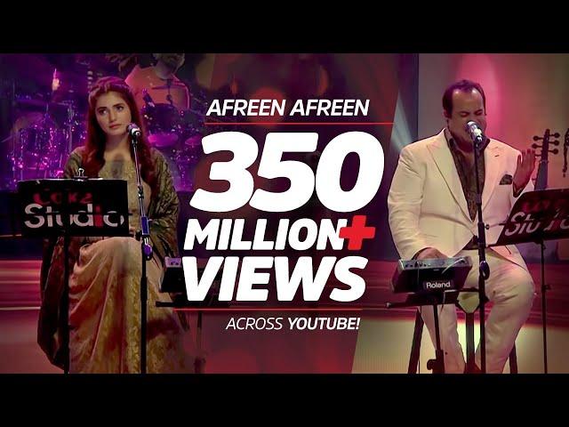 Coke Studio Season 9| Afreen Afreen| Rahat Fateh Ali Khan & Momina Mustehsan