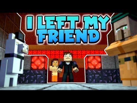 I LEFT MY FRIEND BEHIND ? - Minecraft Story Mode Season 2 : Episode 3 (#3)