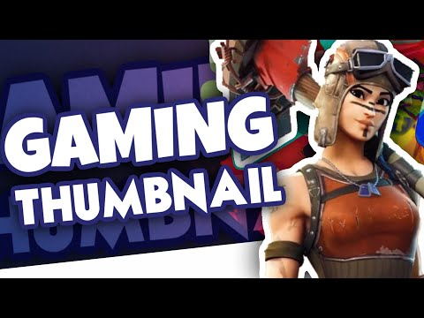 How To Make A Gaming Thumbnail On Android