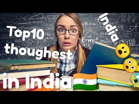 Top 10 TOUGHEST Entrance Exams in India (2019)