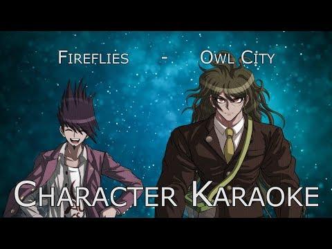Kaito & Gonta sing Fireflies by Owl City | Character Karaoke | Stanpai