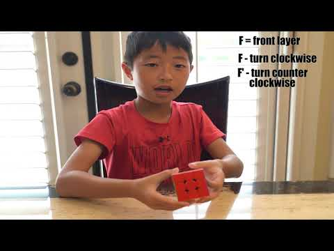 3x3 Rubik's Cube Basic Moves