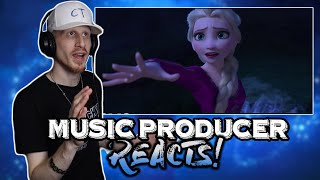 Music Producer Reacts to Into the Unknown (Frozen 2 OST) by Idina Menzel, AURORA