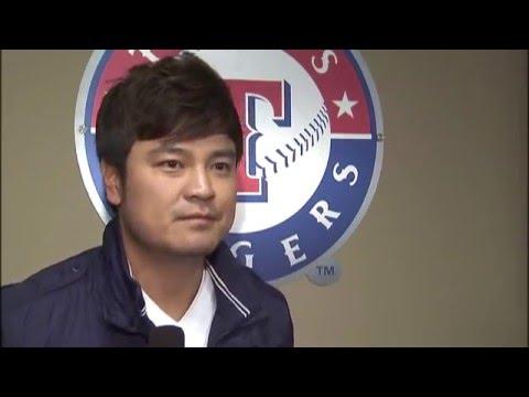 Interview with Shin-Soo Choo at Texas Rangers Winter Caravan