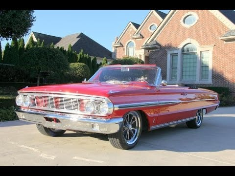 1964 Ford Galaxie Convertible Restomod Classic Muscle Car