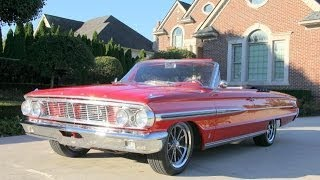1964 Ford Galaxie Convertible Restomod Classic Muscle Car for Sale in MI Vanguard Motor Sales