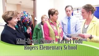 Rogers Mehlville-Oakville Foundation Mini-Grant Prize Patrol Rachel Todd Thumbnail