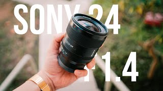 SONY FE 24MM F1.4 GM / BEST SONY PRIME!