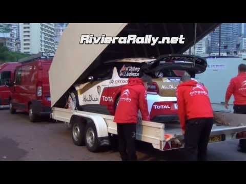 Rallye Monte Carlo 2014 Citroën total Abu Dhabi and Polo R