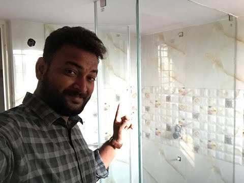 Bathroom Tiles Design video |Plumbing & Glass shower cubicle
