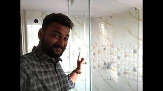 Bathroom Tiles Design video |Plumbing & Glass shower cubicle