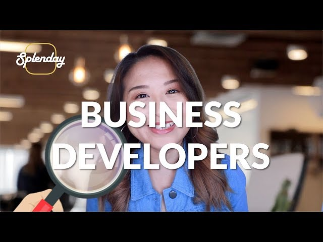 Today We're Looking For - Business Developers