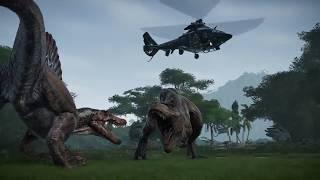 Jurassic World Evolution — трейлер запуска игры