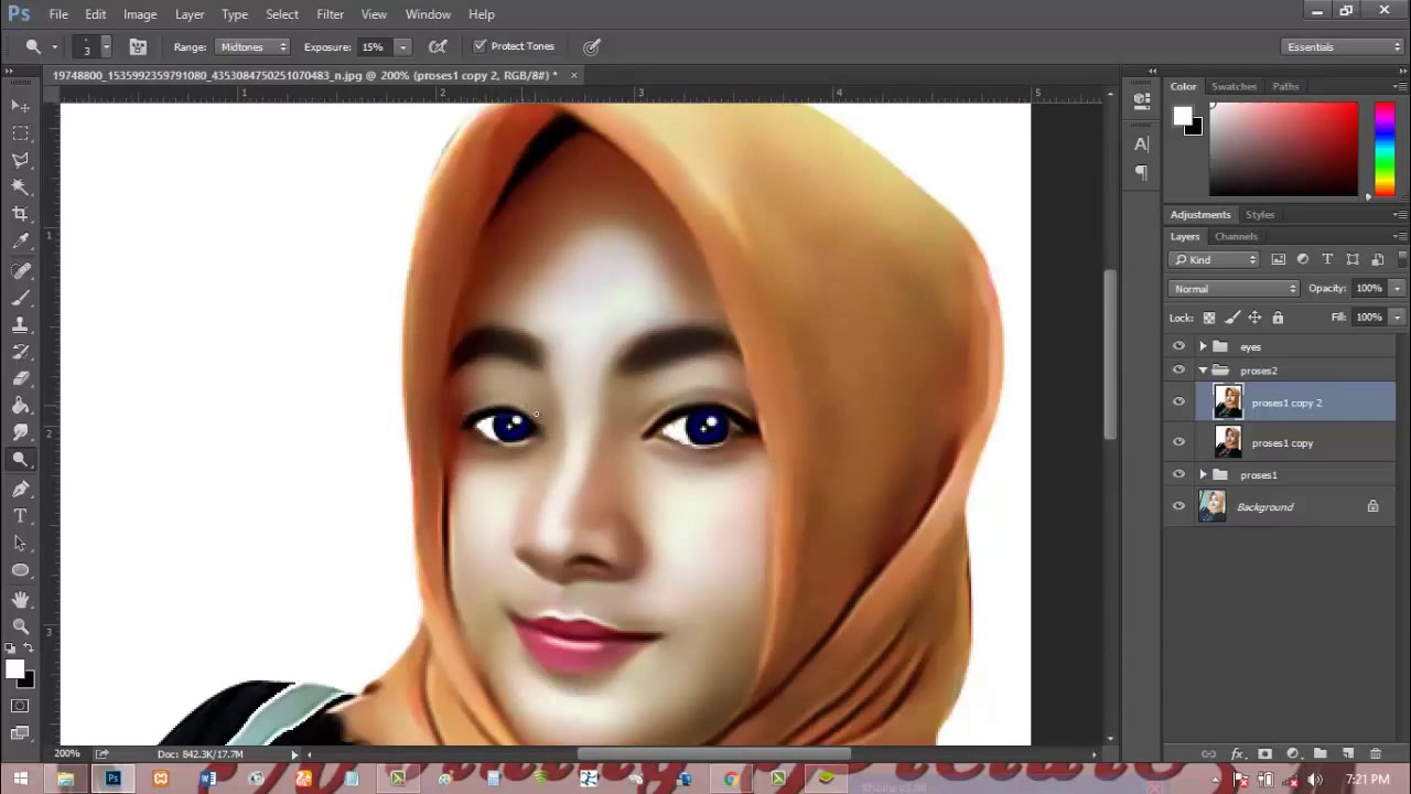 Smudge painting tutorial photoshop – glovepie inspiration.