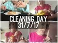 CLEANING DAY   Summer Vlog - Day 11 - 31/7/17   Eloise Musgrove